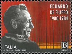 Le eccellenze italiane dello spettacolo  - Eduardo de Filippo - 120° Anniversario della nascita