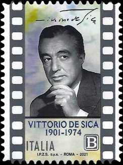 Le Eccellenze italiane dello spettacolo   - Vittorio De Sica : 120° Anniversario della nascita