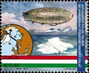 """Esplorazioni polari italiane - 90° Anniversario della spedizione del dirigibile """"Italia"""" al Polo Nord"""