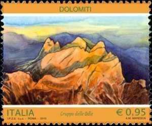 Il patrimonio naturale e paesaggistico : Le Dolomiti
