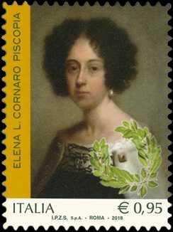 Le eccellenze del sapere  - Genio femminile italiano :  Elena Lucrezia Cornaro Piscopia
