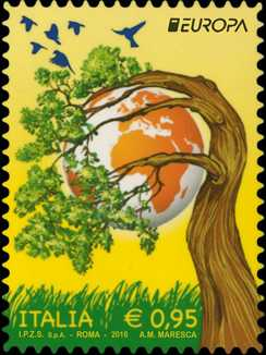 Europa - 61° serie - Ecologia in Europa : Pensa Verde