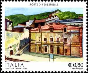Patrimonio artistico e culturale italiano :  Forte di Fenestrelle - Val Chisone