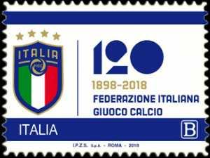 F.I.G.C. - Federazione Italiana Gioco Calcio - 120° Anniversario della fondazione