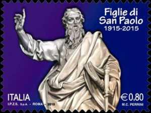 Centenario della fondazione dell' Istituto  Pia Società figlie di San Paolo