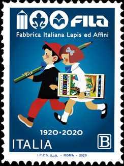 F.I.L.A. - Fabbrica Italiana Lapis ed Affini - Centenario della fondazione