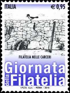 Giornata della filatelia : Filatelia nelle carceri