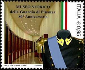 Patrimonio artistico e culturale italiano  - Museo Storico della Guardia di Finanza - 80° della istituzione