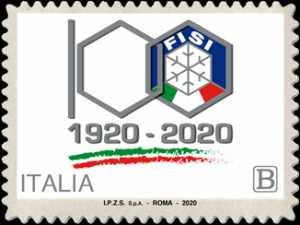 F.I.S.I. - Federazione Italiana Sport Invernali - Centenario della fondazione