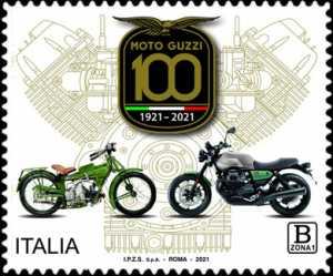 Le eccellenze del sistema produttivo ed economico : Moto Guzzi - Centenario della fondazione