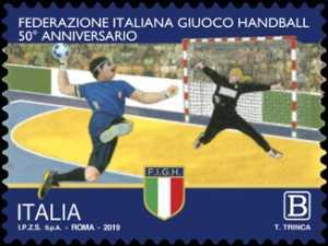 Federazione Italiana Gioco Handball - 50° Anniversario della fondazione