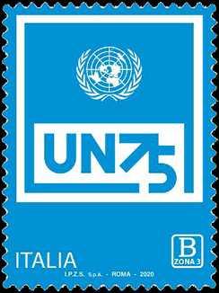 O.N.U.  - Organizzazione delle Nazioni Unite - 75° della fondazione