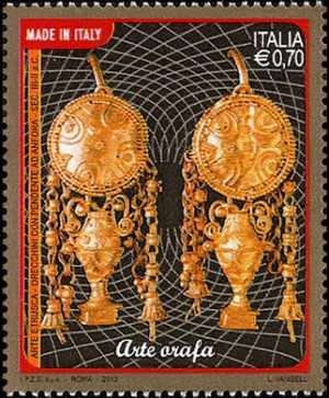 Arte orafa - Arte etrusca  Sec. III-II  a.c.