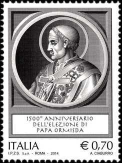 1500° Anniversario dell'elezione di Papa Ormisda