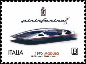 Pininfarina Modulo - 50° Anniversario della presentazione al Salone dell'Automobile di Ginevra