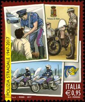70° Anniversario della istituzione della Polizia Stradale