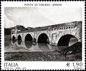 Patrimonio artistico e culturale italiano : Il Ponte di Tiberio - Rimini