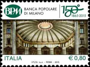 150° Anniversario della fondazione della Banca Popolare di Milano