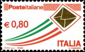 «Poste Italiane» - serie ordinaria - 80 c.