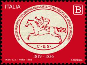 Bicentenario della introduzione della Carta postale bollata del Regno di Sardegna