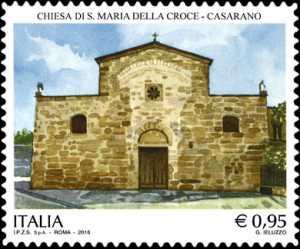 Patrimonio artistico e culturale italiano : Chiesa di Santa Maria della Croce - Casarano