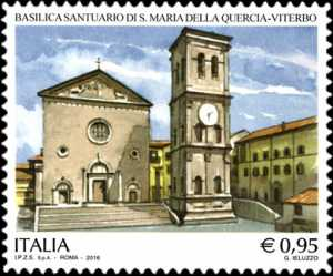 Patrimonio artistico e culturale italiano : Santuario Santa Maria della Quercia - Viterbo