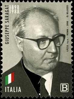 Presidenti della Repubblica : Giuseppe Saragat - 30° Anniversario della scomparsa