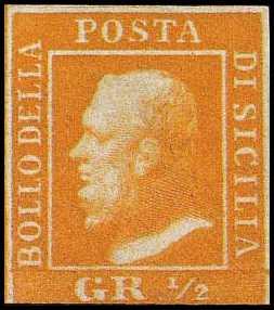 1859 - Effigie di Ferdinando II
