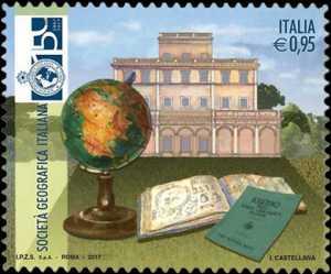 150° Anniversario della Società Geografica Italiana