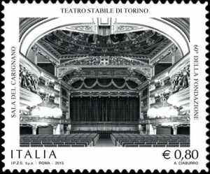 Patrimonio artistico e culturale italiano :  Teatro Stabile di Torino - 60° della fondazione