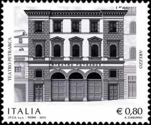 Patrimonio artistico e culturale italiano :  Teatro Petrarca - Arezzo