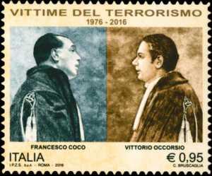 40° Anniversario della scomparsa di Vittorio Occorsio e Francesco Coco, vittime del terrorismo