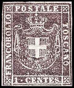 1860 - Governo Provvisorio - Stemma sabaudo