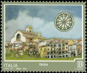 Turistica - 46ª serie  - Patrimonio naturale e paesaggistico : Troia (FG)