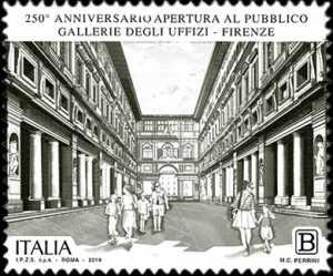 Gallerie degli Uffizi di Firenze - 250° Anniversario della apertura al pubblico