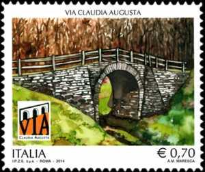 Patrimonio artistico e culturale italiano : La Via Claudia Augusta