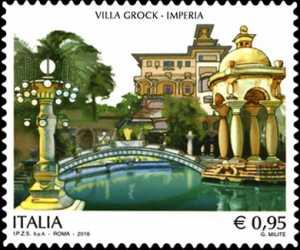 Patrimonio artistico e culturale italiano :  Villa Grock - Imperia