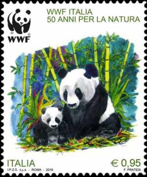 50° Anniversario della fondazione del WWF Italia