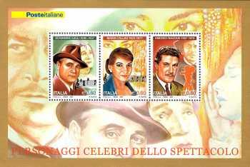 Italia 2007 - Personaggi celebri dello spettacolo : Gigli - Callas - Nazzari