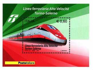 Italia 2010 - Linea ferroviaria ad alta velocità Torino-Salerno