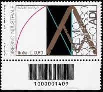 Italia 2011 - Made in Italy - disegno industriale - codice a barre n° 1409