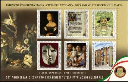 Comando dei Carabinieri per la Tutela del Patrimonio Culturale - 50° Anniversario della istituzione
