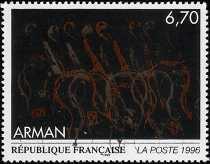 Francia 1996 - Arte - Arman