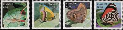 Esposizione Mondiale di Filatelia Tematica  «Brasiliana ' 79»  - Farfalle