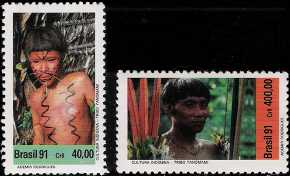 Brasile 1991 - Viaggio del Papa Giovanni Paolo II in Brasile - Cuiaba