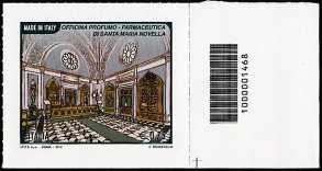 Italia 2012 - Officina Profumo - codice a barre n° 1468