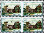 1986 - Ville d'Italia - 7ª serie - Castello d'Issogne
