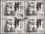 1989 - Centenario della nascita di Charles Chaplin