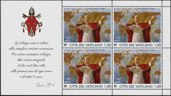 50°Anniversario dell'Enciclica «Populorum Progressio»