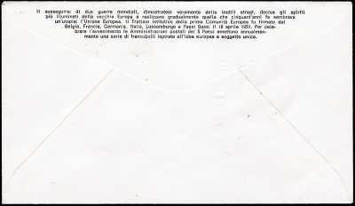 1973 - Europa CEPT - busta 1° giorno FDC Filigrano